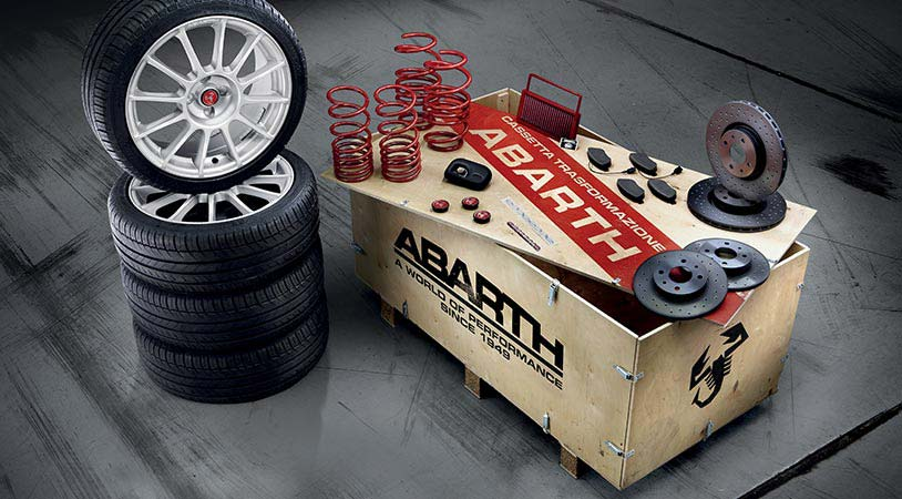 Das Abarth Quot Esseesse Koni Quot Kit Tuning Zubeh 246 R